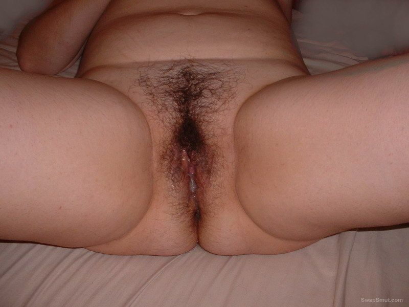 Hairy dripping fuck