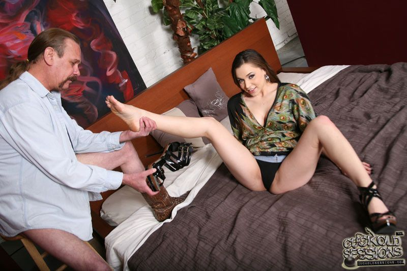 High heel cuckold