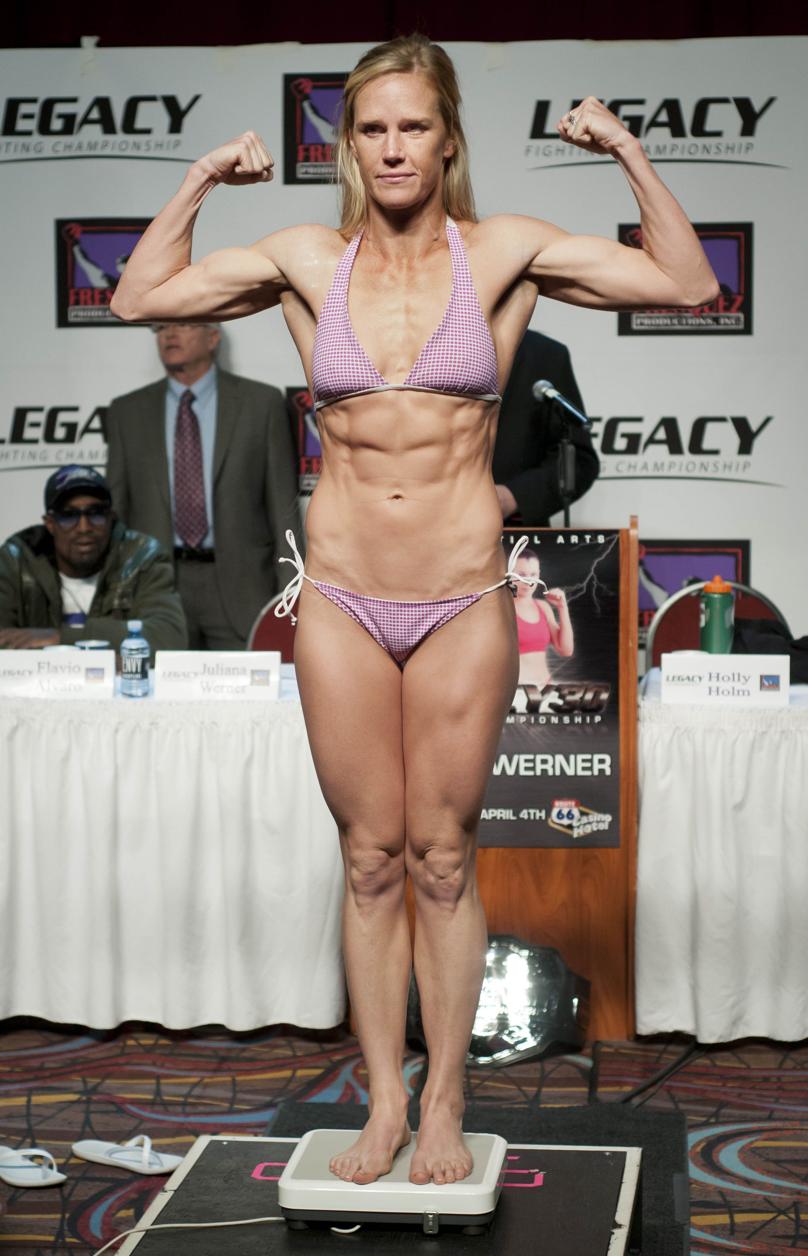 The B. reccomend holly holm nude photos