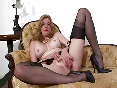 NubileFilms Holly Michaels cumming on a lucky cock.