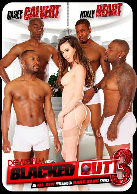 Interracial gangbang movie