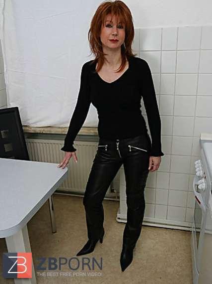 Leather mature