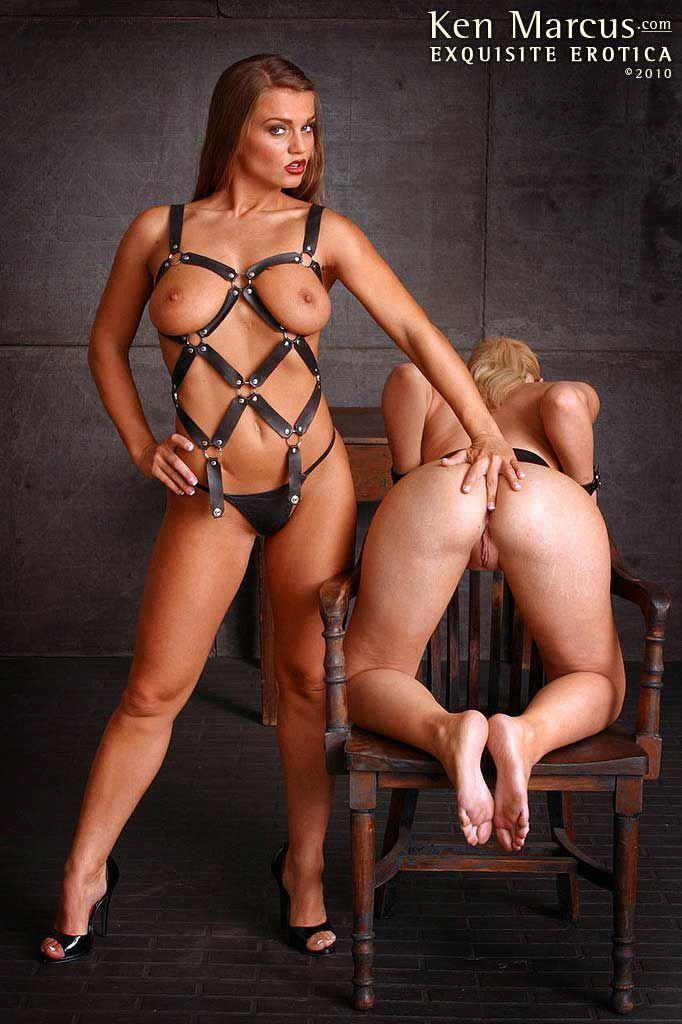 Lesbian bondage masturbation