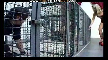 Males in cages femdom