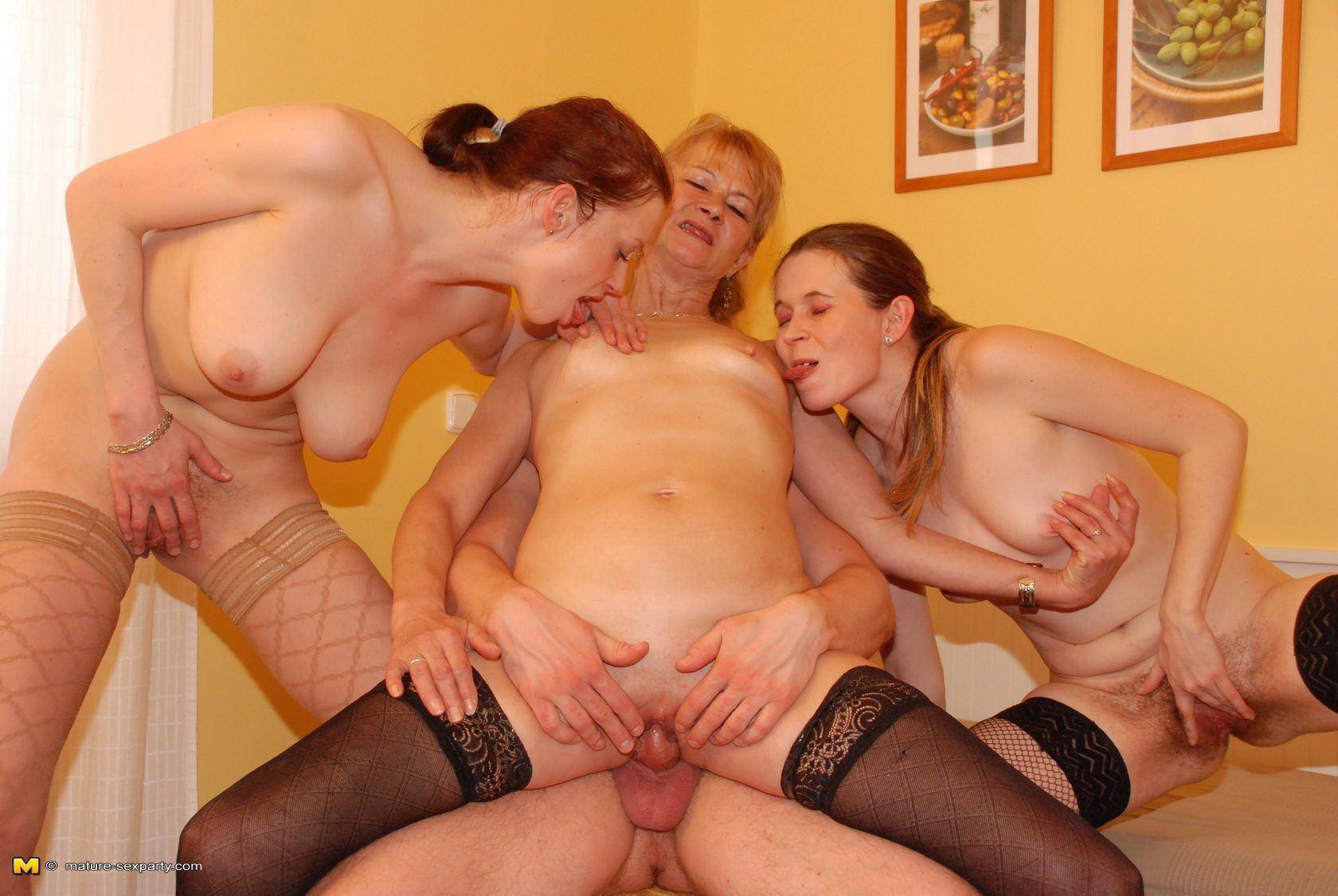 Mature adult parties