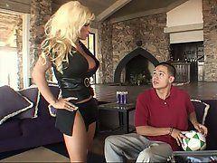 best of Mom butt big blond Mature
