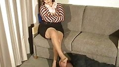 Marine reccomend Mature european foot mistress