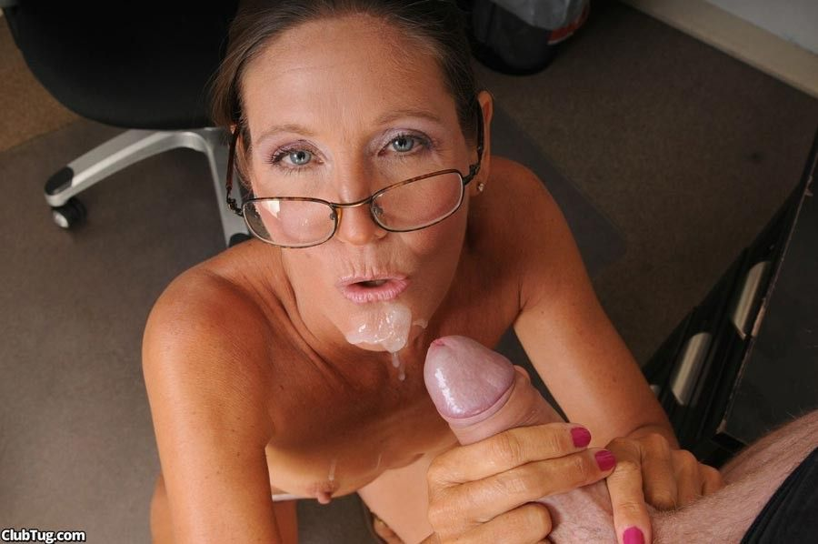 Infiniti reccomend mature woman handjob cock and facial