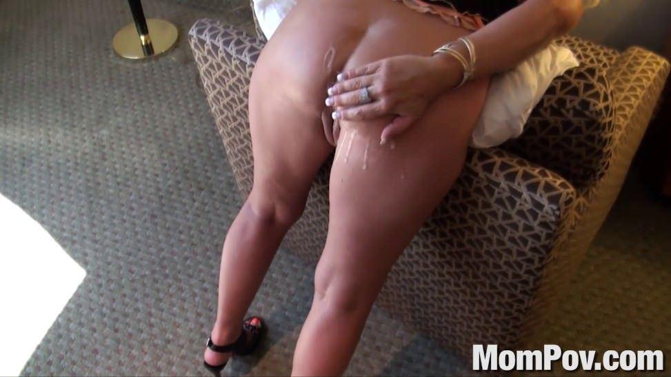 Milf mature mom bent over