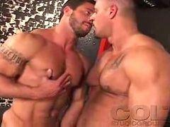 Muscle bodybuilder butt gay porn