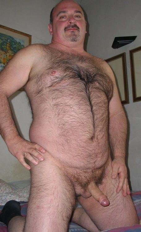 Naked hairy bears