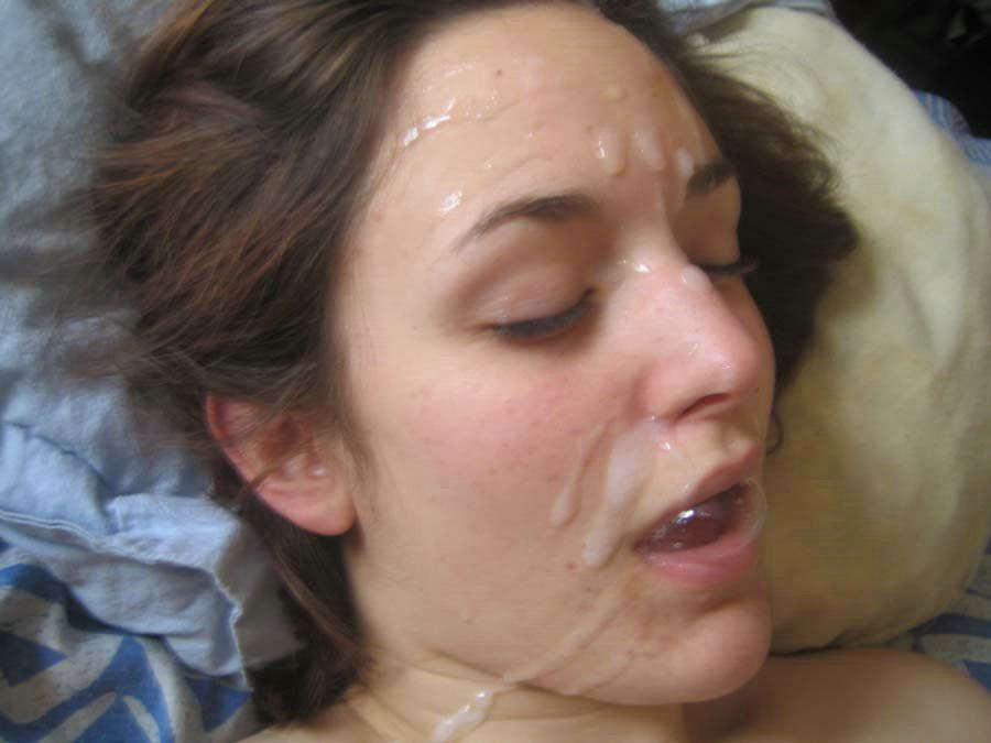 Pitures of wife swallowing sperm