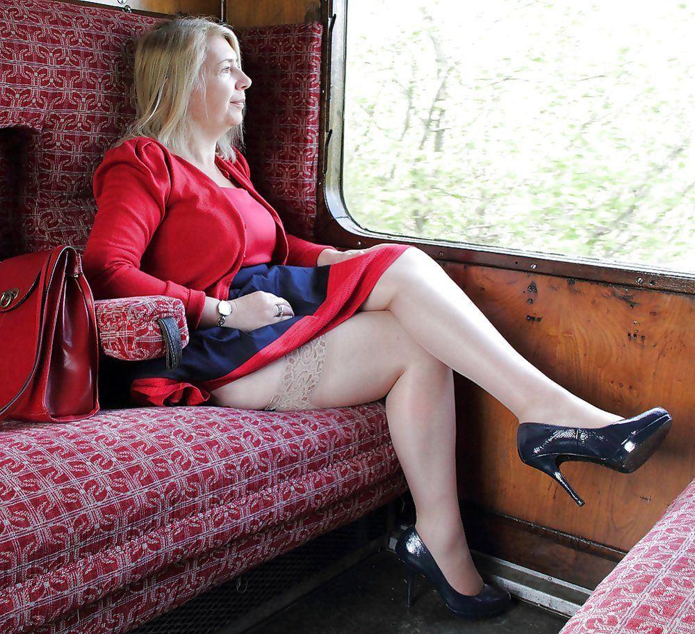 Tator T. reccomend Sexy mature granny legs
