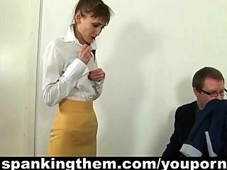 Reed reccomend spanking boss