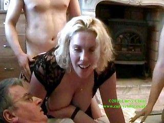 Stockings wife sharing