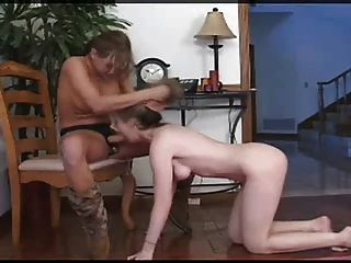 Sweetheart Armana Miller gets Strapon Punishment.