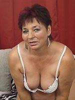 Tits horny milf granny