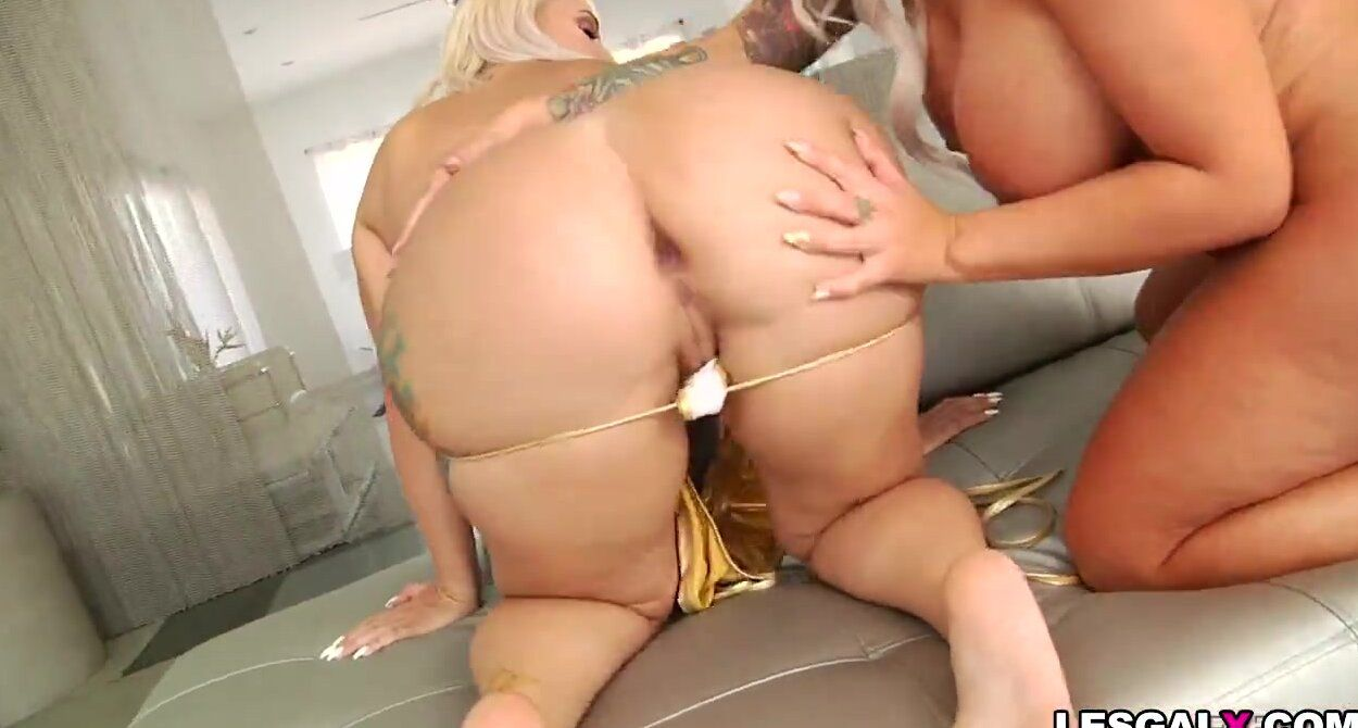 best of Blonde anal voluptuous