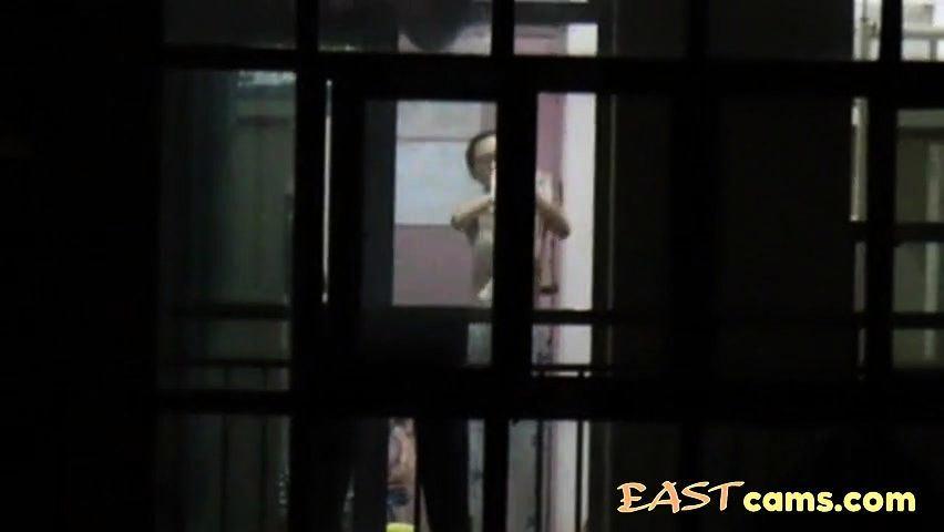 Jo J. reccomend voyeur neighbor window